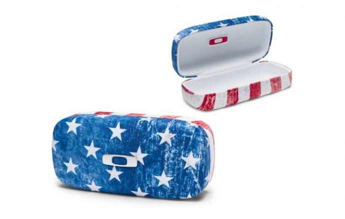 Oakley SQUARE O HARD CASE USA FLAG 100-798-001