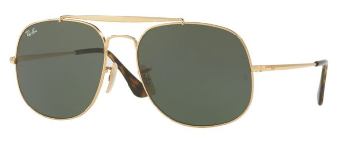 Ray-Ban RB3561 THE GENERAL 001 maat 57-17